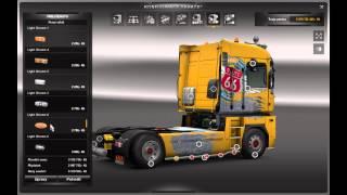 getlinkyoutube.com-Euro Truck Simulator 2 Tuning Renault Magnum