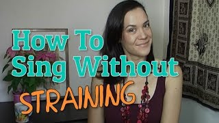 getlinkyoutube.com-How To Sing Without Straining - 2 Exercises To Remove Vocal Tension