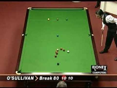 THE GREATEST GAME OF SNOOKER EVER