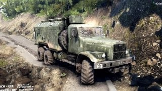 getlinkyoutube.com-SPINTIRES 2014 - The Hill Map - Kraz Utility Truck Removing the 6th Cloacking