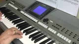 getlinkyoutube.com-unchained melody yamaha psr s700