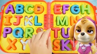getlinkyoutube.com-Learn ABC Letters and Alphabet with Elmo On The Go Spelling Kids Playset Toddler Paw Patrol Learning