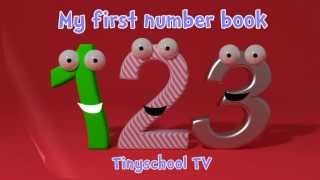 getlinkyoutube.com-Learning numbers and counting for toddlers - My first number book