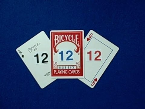 12-12-12 - Card Trick & Giveaway