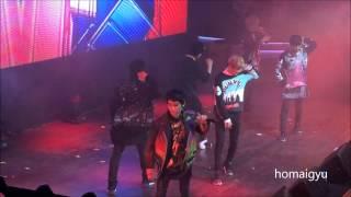 getlinkyoutube.com-[ 140410 ] TEEN TOP WORLD TOUR HIGH KICK MOSCOW - BE MA GIRL