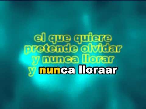 Jose Jose - Amar y Querer Karaokes Letras Lyrics