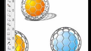 getlinkyoutube.com-corel draw x4 - Esferas de malla metalica 2-2
