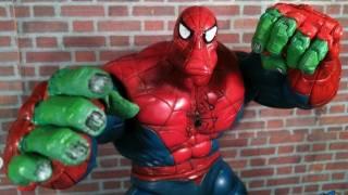 getlinkyoutube.com-Spider Man Classics Spider Hulk Review