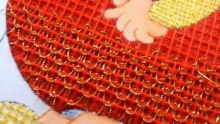 getlinkyoutube.com-Puntada fantasia niño esfera