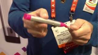 getlinkyoutube.com-[CES 2013] Hapifork unveiled an electronic fork that helps you monitor and track your eating habits.