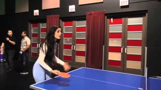 getlinkyoutube.com-Camila and Austin playing Ping Pong