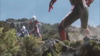 getlinkyoutube.com-Ultraman Nexus VS Dark Mephisto Zwei