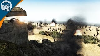 getlinkyoutube.com-SWORD BEACH: D-DAY 1944 | Sir Hinkel's Mod | Men of War: Assault Squad 2 [MOD]