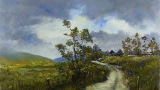 getlinkyoutube.com-Windy Gap - Time Lapse Painting