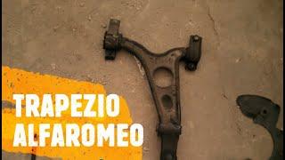getlinkyoutube.com-Alfa Romeo 147/156/GT Smontaggio trapezio braccetto inferiore