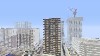 getlinkyoutube.com-「Minecraft」本格的なタワーマンションの作り方
