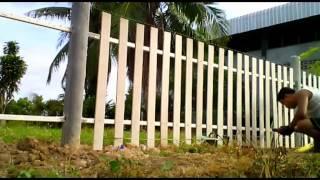 getlinkyoutube.com-ทำรั้วเอง แบบง่าย my DIY fence