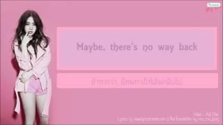 [Thaisub - Karaoke] MINAH - Cry Me Out