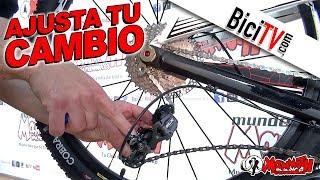 getlinkyoutube.com-Como ajustar un cambio trasero de bicicleta