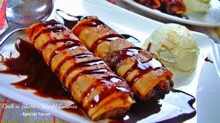 getlinkyoutube.com-Turon (Filipino Dessert)