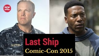 SDCC 2015: Adam Baldwin e Jocko Sims de The Last Ship
