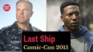 SDCC 2015: Adam Baldwin e Jocko Sims de The Last Ship