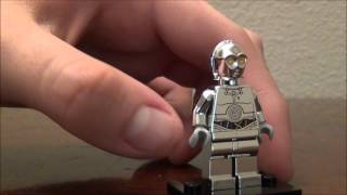 lego chrome silver tc-14 exclusive droid minifigure lego star wars review