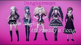 getlinkyoutube.com-【MMD x Danganronpa】.:: Five Nights At Freddy's Song ::.