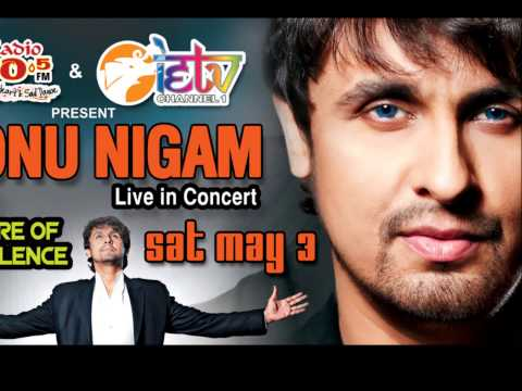 Sonu Nigam in Trinidad May 3rd 2014