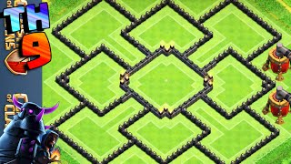 getlinkyoutube.com-CLASH OF CLANS - LAYOUT DE FARM CV9 // BEST TH9 FARMING BASE