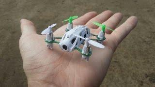 getlinkyoutube.com-Самый маленький FPV квадрокоптер в мире ... Hubsan H111D Nano Q4 FPV
