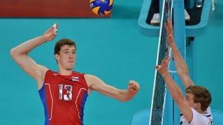 getlinkyoutube.com-Top 10 Best Volleyball Spikes in The OG:  Dmitriy Muserskiy