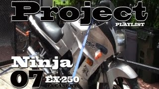 getlinkyoutube.com-07 Ninja  250 Project pt.1