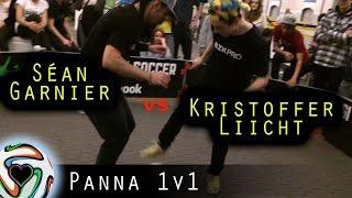 getlinkyoutube.com-Sean Garnier (FRA) v Kristoffer Liicht (DEN) Panna Battle | Style Of Play Jam 2015 - Copenhagen