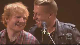 getlinkyoutube.com-Ed Sheeran w/ Macklemore- Same Love [iHeartRadio 2014]