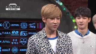 getlinkyoutube.com-[K-POP] Boy groups dancing to girl groups Part 1 (BTS, Infinite, Teen Top....)