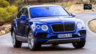getlinkyoutube.com-2017 Bentley Bentayga Diesel Sequin Blue Exterior - Interior Design & Driving Footage HD