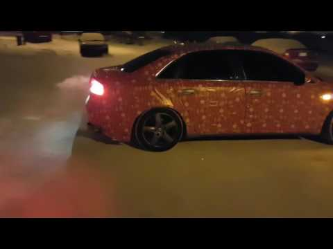 Audi B7 Spreading Holiday Spirit