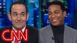 Don Lemon mocks Trump's 'festival of flattery'