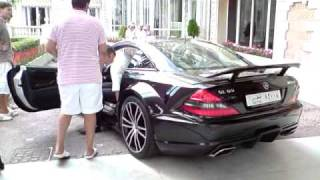 getlinkyoutube.com-Mercedes SL 65 AMG Black Series Start Up and Accelerates
