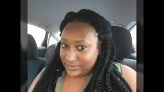 getlinkyoutube.com-*REQUESTED* CROCHET JUMBO SENEGALESE TWISTS AND NIGHT ROUTINE