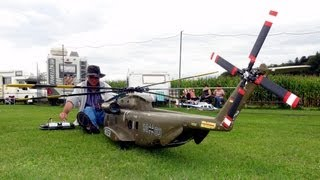 getlinkyoutube.com-RC BIG SCALE Helicopter CH53 Heer RC