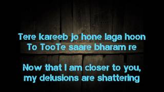 getlinkyoutube.com-Sanam Re lyric translation