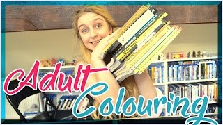 getlinkyoutube.com-💙 ADULT COLOURING BOOK COLLECTION 💙