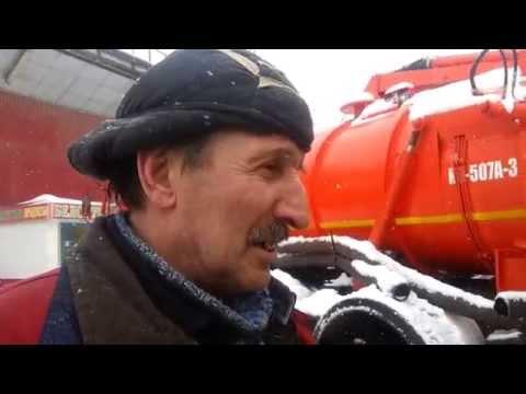 Авария водопровода в Калуге