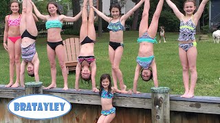 getlinkyoutube.com-Gymnastics Sleepover Extravaganza! (WK 227.3)