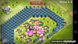 getlinkyoutube.com-Castle Clash hbm S vlad and pixie take down giant molt