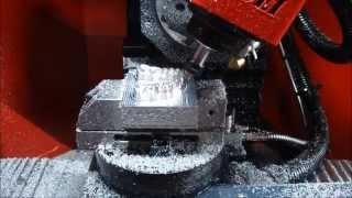 getlinkyoutube.com-MINI 5 Axis CNC Machining center (tooth)