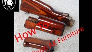 getlinkyoutube.com-How-To, Ak Furniture Refinishing