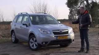 getlinkyoutube.com-Subaru Forester 2.0 Lineartronic 2013 test